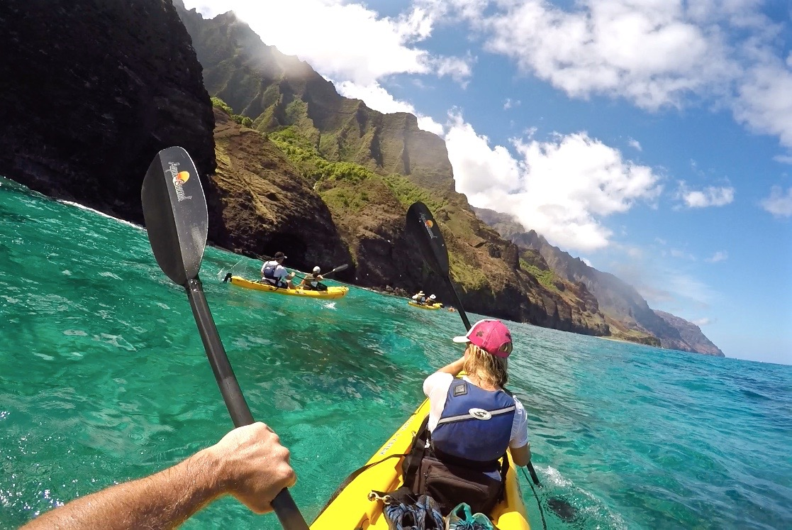 Napali Coast Kayak Yoga Retreat 1